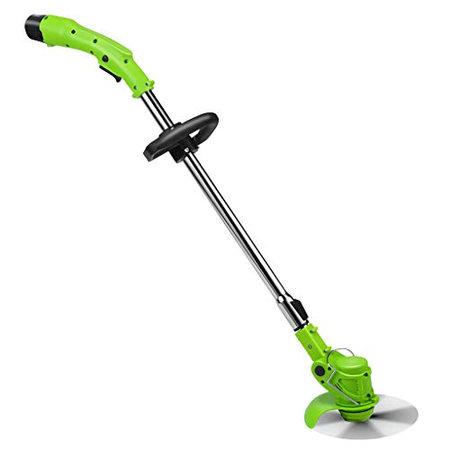 Find Discount ZXYSR Rechargeable Handheld Weeders, Cordless String Trimmer with Battery and Charger,...