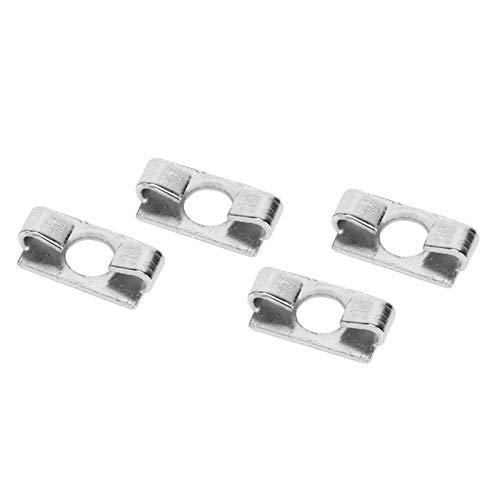 20 piezas de perfil de aluminio conector elástico de resorte de acero galvanizado sujetador de montaje incorporado serie 20-ranura 6/30 serie-ranura 8/40 serie-ranura 8(40-8)