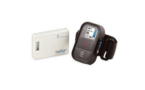 GoPro Wifi Bacpac + combo avec Wifi Télécommande pour HD Hero2 et HD Hero inclus Noir/Argent( langue: anglais / espagnol)