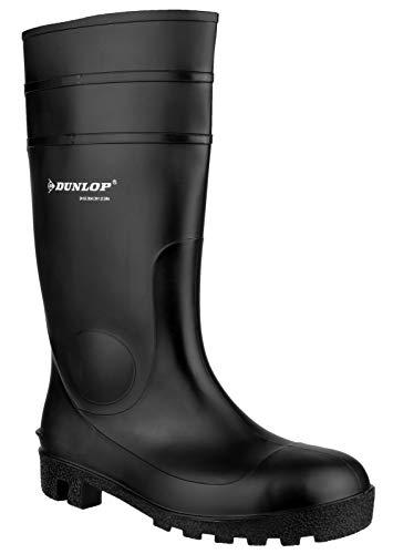 Dunlop Protective Footwear (DUO18) Dunlop Protomastor, Botas de Seguridad Unisex Adulto, Black, 44 EU