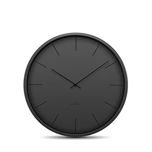 Huygens Silent Clocks Tone wandklok ø 25 cm - zwart