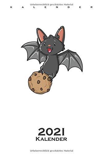Cookie Fledermaus Kalender 2021: Jahreskalender für Naschkatzen und Keksliebhaber