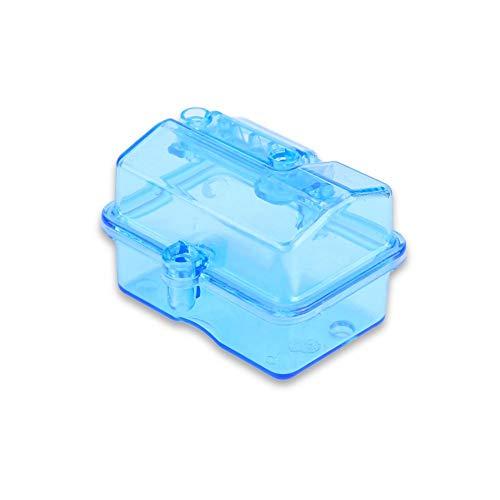 Waterdichte ontvanger box, ontvangende doos, RC waterdichte ontvanger ontvangende box voor huanqi727/slash rc auto afstandsbediening accesory
