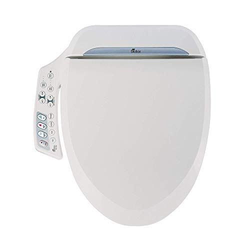 BioBidet BB-600 BB600 Ultimate Advanced Bidet Toilet Seat, White, Elongated