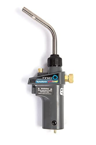 TurboTorch 0386-1297 TX503 Torch Swirl, MAP-Pro/LP Gas, Self Lighting