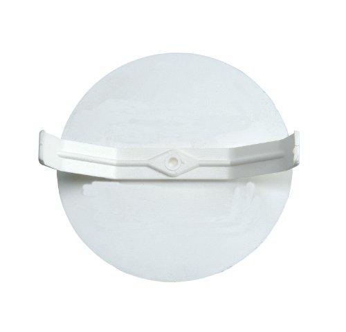 Kopp 348700501 Federdeckel für Schalterdose, ø 60 mm, Profi-Pack: 25-Stück im Beutel, weiß