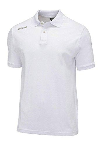 Errea Team Colour 2012 MC, Polo de Sport pour Homme XXXL Blanc