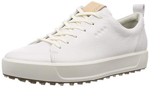 ECCO Soft, Scarpe da Golf Uomo, (Bianco 000), 42 EU