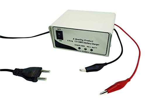 ERH INDIA 12V 4 Ampere Charger for 7.5Ah and 12v ups Battery Charger