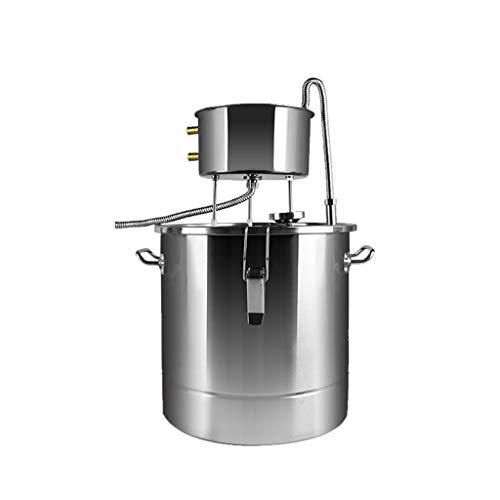 Xu-flash extract zuiver dauwwater destillatiewater, 22L 304/201 roestvrij staal brewing apparaten, huis brandy water gedestilleerd machine