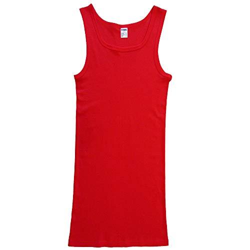 HERMKO 16027 Extra lang heren onderhemd van katoen/modal