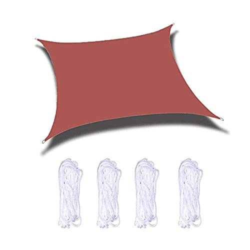 YLSS Velas De Sombra Cuadrado, Lonas Impermeables 90% Protección UV Toldos, Jardines Pará Terrazas Balcón Sombras De Sun (Multicolor 3M×3M),1