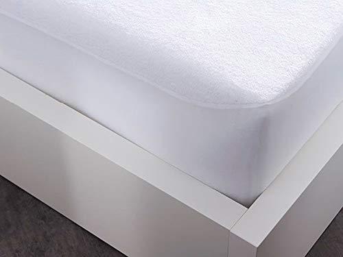 Today Protège Matelas Firm, Polyester Coton, Blanc, 140x190x23 cm