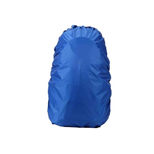 Mountaineering Bag Rain Cover Portable Backpack Rainproof Backpack Cover for Outdoor Activities Blue 35-40L for Convenience