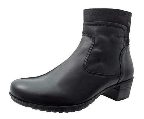 Fluchos Charis 9810 Sugar Black Ankle Boots