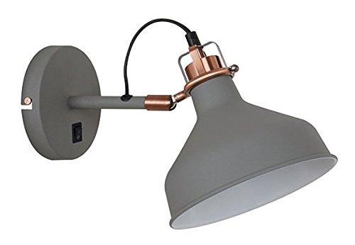 Pendente Metal Quality, 40w 110v Cinza