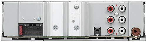 Kenwood-KMM-BT306-USB-Autoradio-mit-Bluetooth-Freisprecheinrichtung-Alexa-Built-in-Soundprozessor-MP3-Spotify-Control-4×50-Watt-Beleuchtung-einstellbar-Schwarz