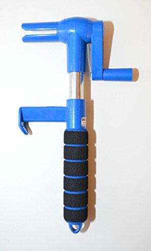 speedexx Spanngurtwickler Gurtwickler Spanngurtaufroller (blau)