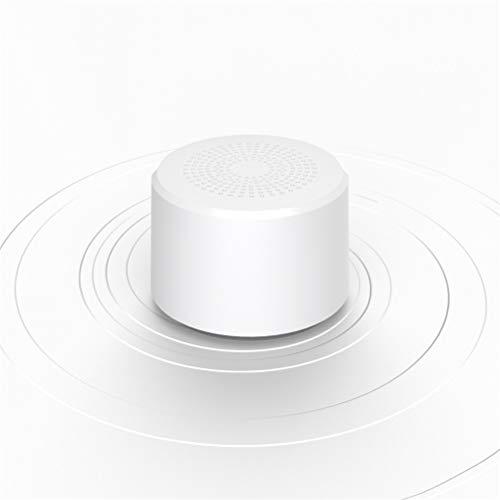 HDDFG Mini Altavoz Bluetooth Inalámbrico Portátil Redondo Subwoofer Control De Voz Inteligente Altavoz Bluetooth Portátil 5.0