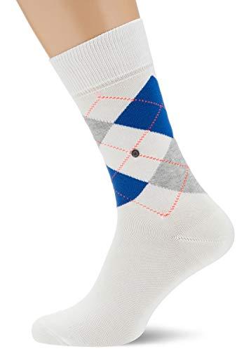 Burlington Herren King M SO Socken, Weiß (Off-White 2040), 40-46