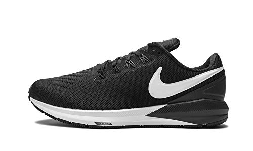 Nike Mens Air Zoom Structure 22 (4E AA1639 010 - Size 7 Black/White