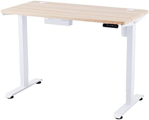 CO Z Height Adjustable Computer Desk 55x28 inch Sitting and Standing Desk for Home Office More product image