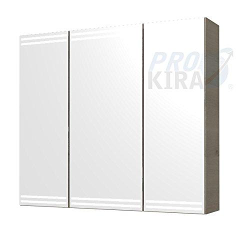 PELIPAL Pineo Spiegelschrank/PN-SPS 07 / Comfort N/B: 80 cm