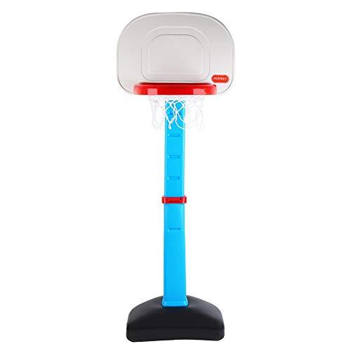 Tragbare Basketballbretter Kinderspielzeug Fünf-Gang-Adjustable Basketball ausstehen können im Innen- und Außen Basketball Hubständer Basketballbretter (Color : Blue, Size : 0.70-1.40m)