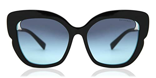 TIFFANY & CO. TF4161 80559S BLACK/BLUE SUNGLASSES NERO/BLU azure gradient blue Square