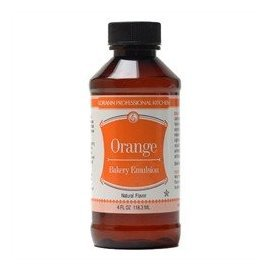 LorAnn Orange Bakery Emulsion, 4 ounce bottle