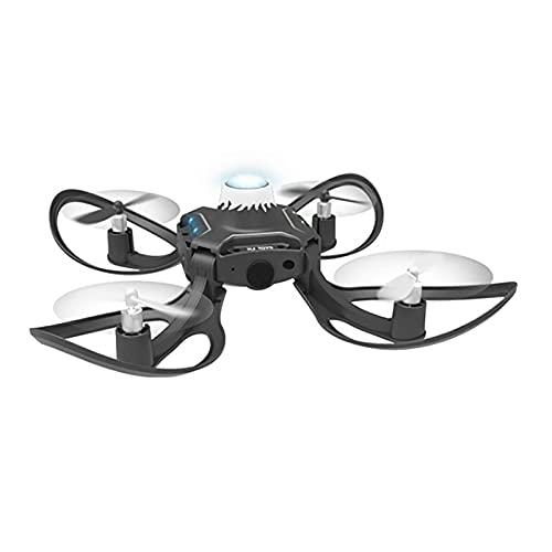 SXLCKJ Mini Drone Toys para niños Control somatosensorial de un UAV Plegable de Cuatro Ejes con Control Remoto Juguetes para niños y G (Juguete Inteligente)