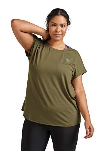 Zizzi Active by Damen Große Größen Sport Shirt Kurzarm Fitness Top Gr 42-56