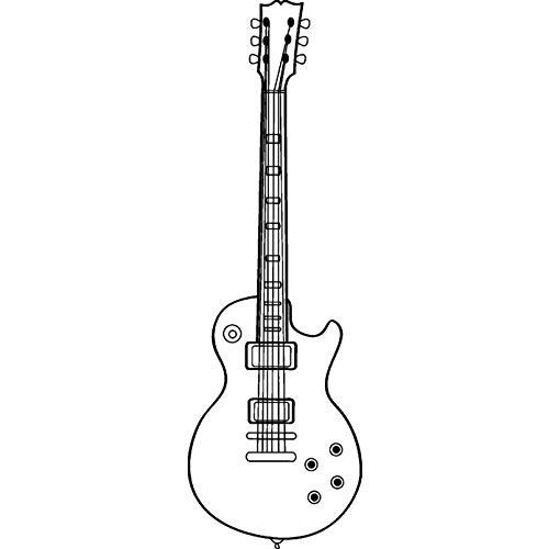 Azeeda A7 'Gitarre' Stempel (Unmontiert) (RS00000453)