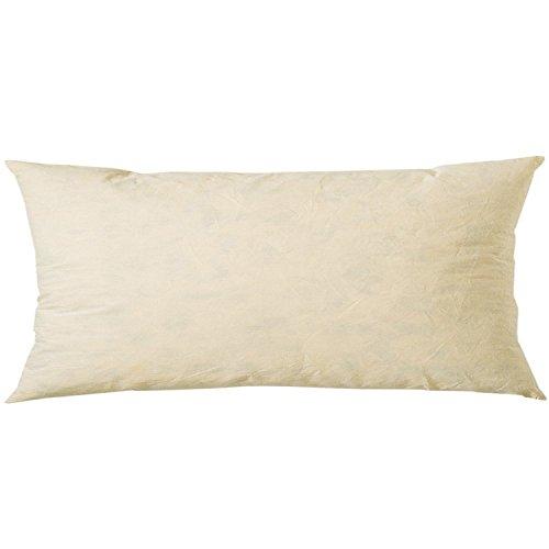 Linum Inlett Federkissen für Kissenbezüge N05 35cm x 70cm, Kissen, Kissenfüllung, Federinlett, Wohntextilien