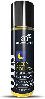 ArtNaturals Sleep Rollerball Essential Oil 33 Fl Oz 10ml Roller Bottles Aromatherapy Roll On product image