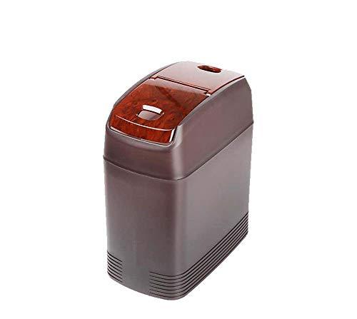 Grote capaciteit auto vuilnisbak, die goed is voor het opslaan van afval en roet in de auto.
