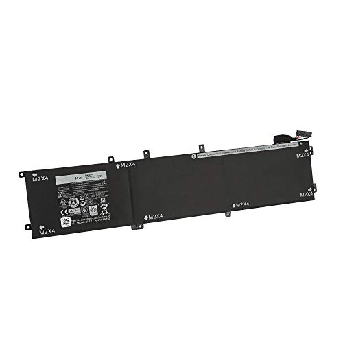 ASKC 4GVGH Laptop Battery Replacement for Dell XPS 15 9550 Dell Precision 15 5510 Series 1P6KD 01P6KD 0T453 T453X 11.4V 84Wh