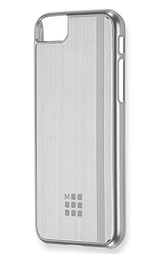 Moleskine Cover Rigida in Alluminio per iPhone 6/6s/7/8, Custodia per Smartphone con Quaderno Volant Journal XS per Appunti, Colore Argento