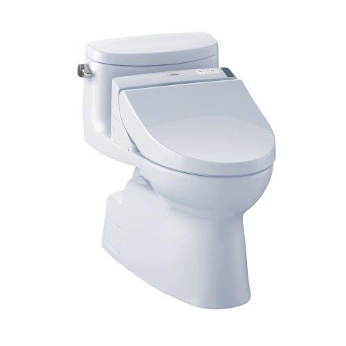 TOTO MW6442044CEFG#01 WASHLET+ Carolina II One-Piece Elongated 1.28 GPF Toilet and WASHLET...
