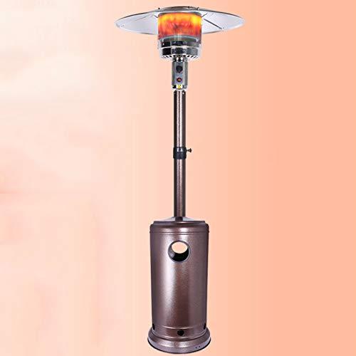 zunruishop Calentador de Ventilador eléctrico Terraza Calentador Hogar Sombrilla En Forma De Paraguas Licada Petróleo Petróleo Estufa Estufa de Parrilla Interior Cubiertas para radiadores (Color : B)