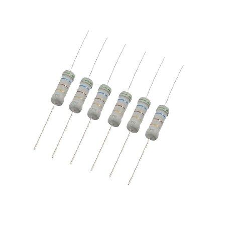 Aexit 350V 2W Fixed Resistors Watt 560 Ohm 5% axia_l Carbon Film Resistor Single Resistors 200 Pcs