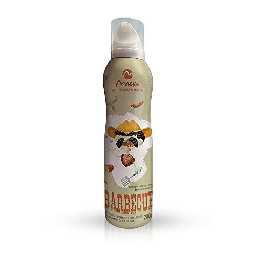 Maeva. Spray de Aceite de Oliva Virgen Extra sabor Barbacoa 200ml.