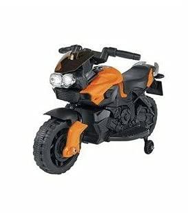 Moto eléctrica B/O 6 V 4 Ah 20 W naranja