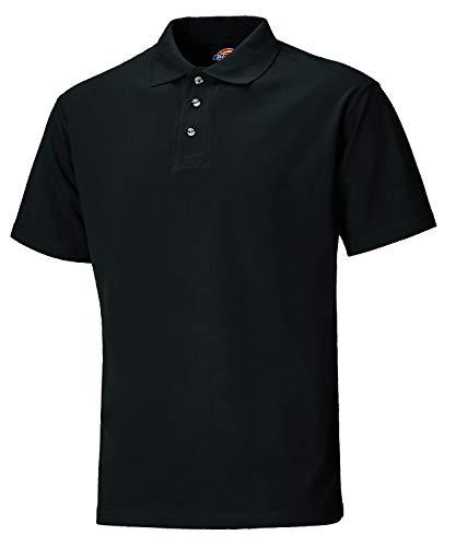 Dickies SH21220 BK XL Polo-Shirt Taille XL Noir
