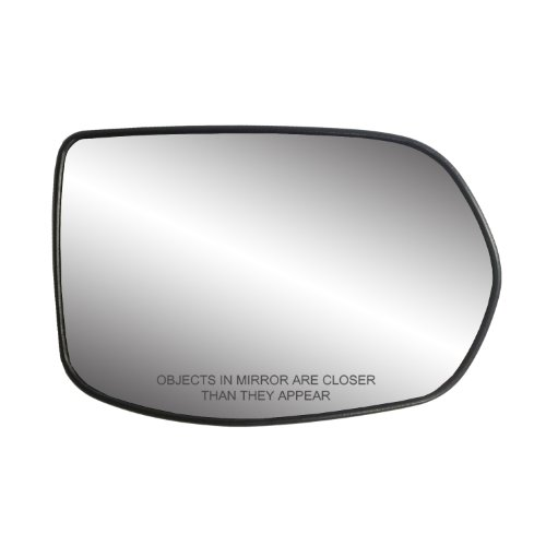"""Fit System 30217 Passenger Side Heated Mirror Glass w/Backing Plate, Honda CR-V, 4 15/16"""" x 7 7/16"""" x 7 5/8"""""""