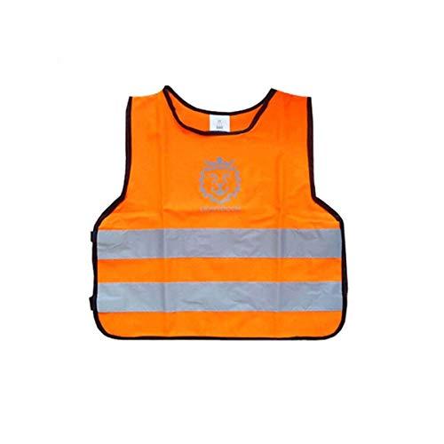 JIANSHENG Kinder/Schüler Reflektierende Weste Verkehrsweste DREI Farben Niedriger elastischer Draht (Color : A)