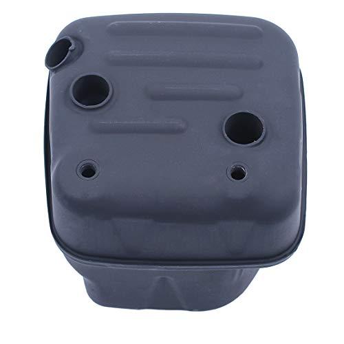 Haishine Conjunto de Escape de silenciador para Motosierra Husqvarna 359 357 357XP EPA 504706401,503917601,503917501