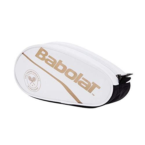 Babolat Pencil Case Wimbledon - Astuccio, Unisex, per Adulti, Colore: Bianco, Viola, Taglia Unica