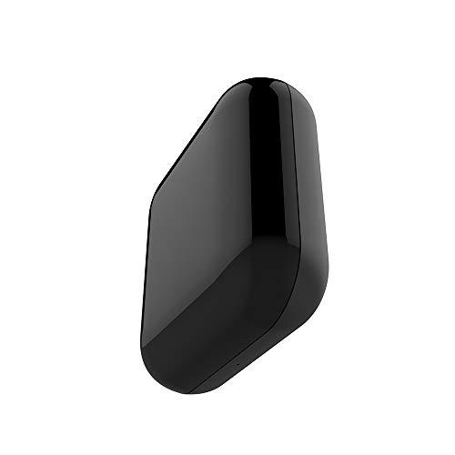 Nishore Control Remoto Inteligente IR por Infrarrojos Universal TV/Aire Acondicionado/Ventilador/TV Box Controlador de Voz (Negro - Cuadrado)