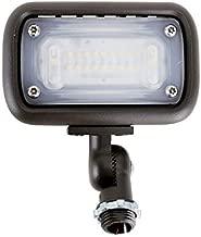 15W Outdoor LED Flood Security Lights, Waterproof Landscape Lighting, 50W PSMH Equivalent, 1370 Lumens, 3000K Warm White, 120-277V, 1/2